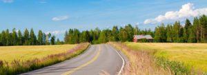 Header - Top Row Ohio Farm with Winding Road